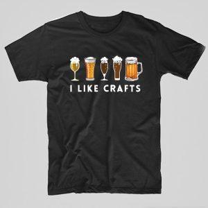 Tricou-Bere-Crafts-negru