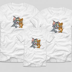 Tricouri-Familie-Tom-&-Jerry