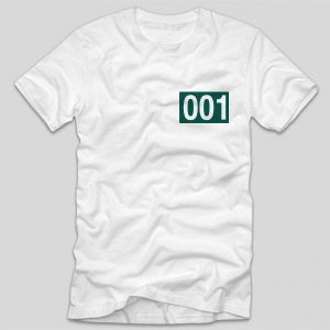 Tricou-Squid-Game-number-001